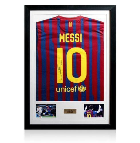 Messi Signed Jersey | eBay