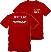 T Shirt Bedrucken