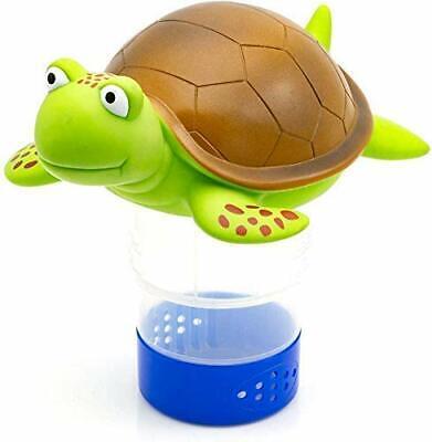 Premium Animal Floating Pool Chlorine Dispenser for Chemical Tablet Turtle Color