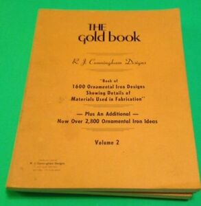 IRON WORK ;THE GOLD BOOK OF 1600 IRON DESIGNS (SET OF 5 vol)