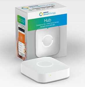 SmartThings Hub (v.2) - Controls Z-Wave and Zigbee devices