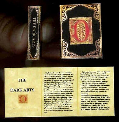 Art Crafts For Halloween (Miniature Magic Book The Dark Arts  Book Artisan Crafted for Halloween)