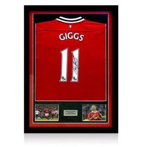 ed09abbb4 Framed Signed Manchester United Shirt