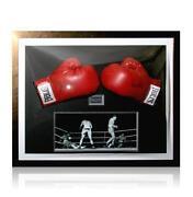 Muhammad Ali Signed Glove