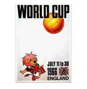 1966 World Cup Poster