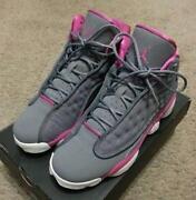 separation shoes e2965 c8426 usa jordan 13 gray pink 12c37 6bf58
