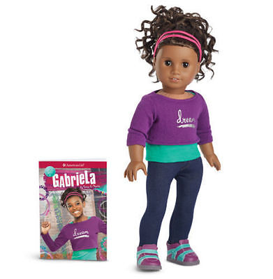 AMERICAN Girl DOLL GABRIELA Brand New in the Box with Book Gabriel Gabriella