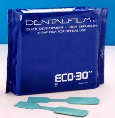 Dental X Ray Films Ergonom Alike Eco30 Self Developing With 50 Films Free Ship