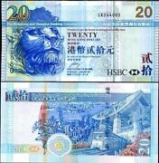 Hong Kong 20 Dollars