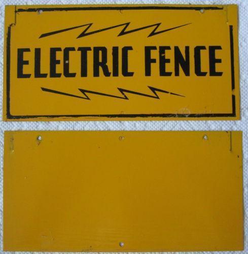 Vintage Electric Fence Ebay