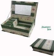 Large Antique Jewellery Box