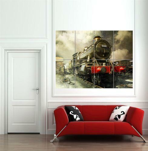 Train Wall Art Ebay