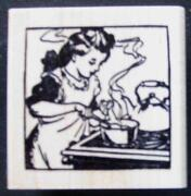 Rubber Stamps Cooking