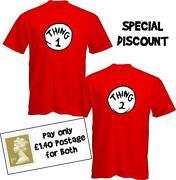 Thing 1 Thing 2 T Shirts