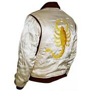 Embroidered Satin Jacket
