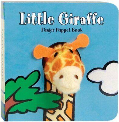NEW - Little Giraffe: Finger Puppet Book (Little Finger Puppet Board Books)