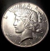 1928 P Peace Dollar