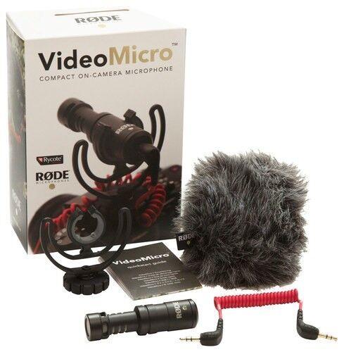 RDE - VideoMicro On-Camera Cardioid Condenser Microphone
