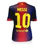 Lionel Messi Signed