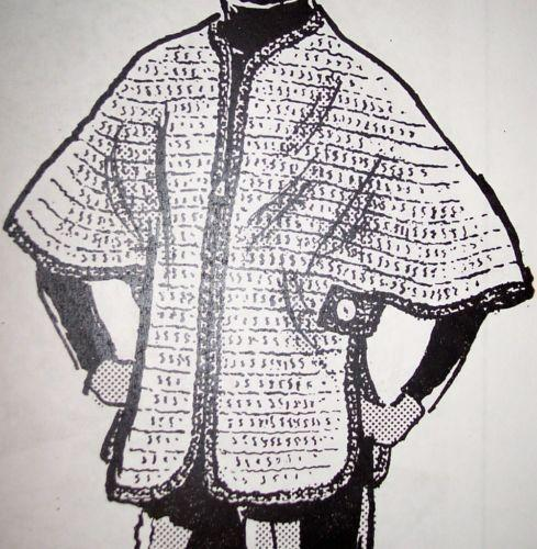 Vintage Crochet Poncho Ebay