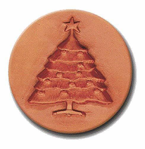 """RYCRAFT 2"""" Keep it Soft-Brown Sugar Saver-CHRISTMAS TREE- Works as Cookie Stamp"""
