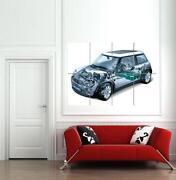 Mini Cooper Wall Art