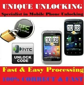 Unlock Code 4 Telstra Australia HTC Wildfire S any Network Key/Pin a510e a510b
