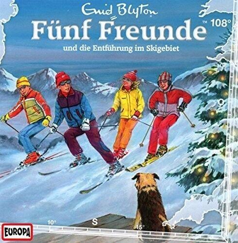 FÜNF FREUNDE - 108/UND DIE ENTFÜHRUNG IM SKIGEBIET  CD NEU
