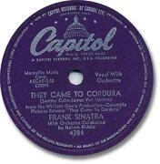 78 RPM Records Frank Sinatra