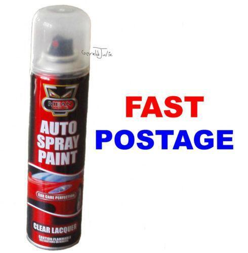 Clear Lacquer Spray Paint Body Shop Supplies Ebay