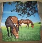 Horse Fleece Throw Blanket