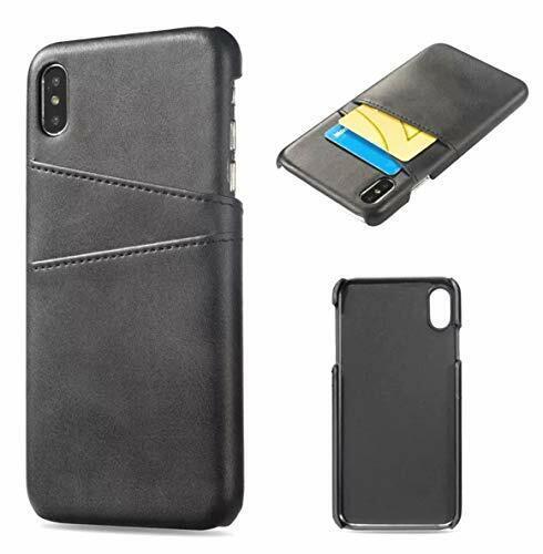 2 Pack Bundle Pocket Black Leather Phone Case For iPhone 11 Series