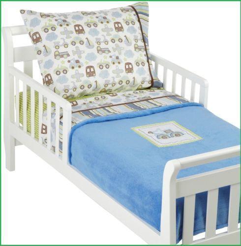 4 Piece Toddler Bedding Set Ebay