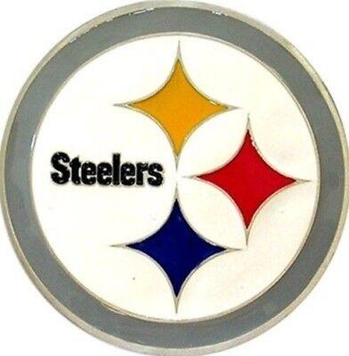(Pittsburgh Steelers Logo Emblem Belt Buckle)