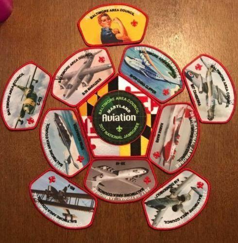 2017 National Scout Jamboree Baltimore Area Council JSP Set 11 Pcs. [C3144]