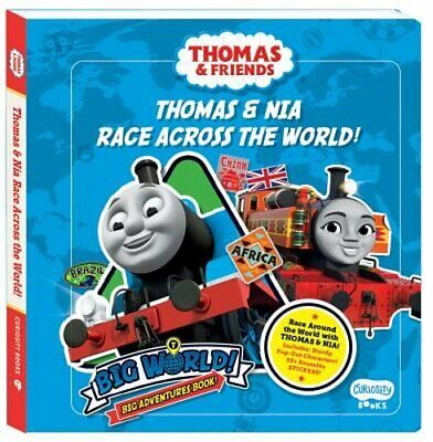 Thoma & Nia Race Across the World: A Big World, Big Adventures Book! by Matheson