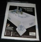Stamped Cross Stitch Tablecloth