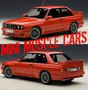 Autoart BMW M3 E30 1 18