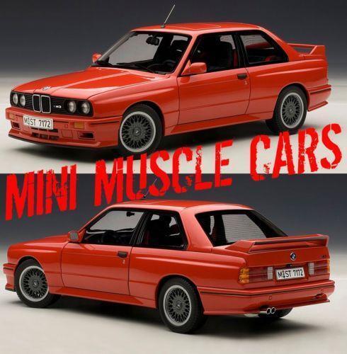 Bmw E30 M3: Autoart BMW M3 E30 1 18