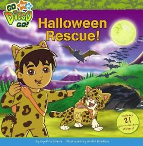 Halloween Rescue! (Nick Jr. Go Diego Go!)-ExLibrary 1416933514 | eBay
