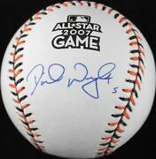 David Wright Signed Baseball