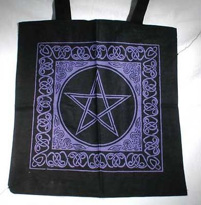 Celtic Pentacle Bag - Pagan Witchcraft Wiccan Supply hand bag