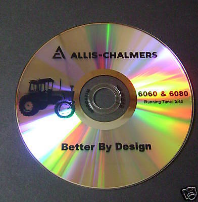 New Farm Tractor Sales Dvd Ac - Better By Design For Allis Chalmers 6060 6080