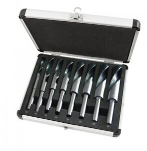 8PC-BLACKSMITH-HSS-HIGH-SPEED-STEEL-TWIST-DRILL-BIT-SET-14mm-25mm-ALLOY-CASE