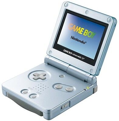 USED NINTENDO GAME BOY ADVANCE SP CONSOLE BLUE Perfect Working Japan RARE