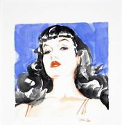 Bettie Page Painting