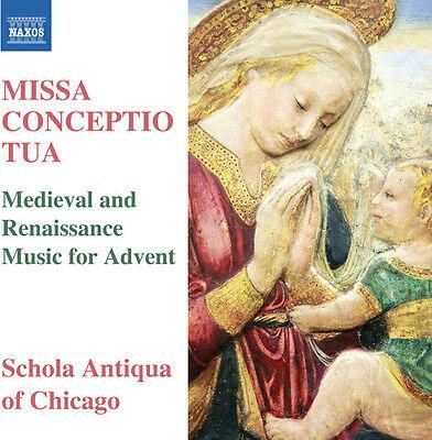 La Rue / Anderson / Schola Antiqua Of Chicago - Missa Conceptio Tua [New CD]