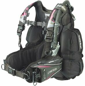 Cressi Air Travel 2.0 Travel Lady BCD, Pink