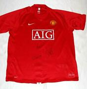 Paul Scholes Signed Shirt