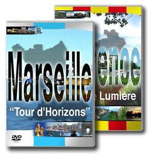 FRANKREICH-PROVENCE-MARSEILLE-Destinos-URLAUB-Fernweh-2-DVD-Edition-Nuevo